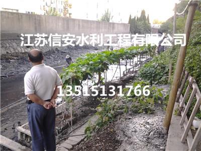 扬州沿山河11年来****全线清淤 清淤20万方将于明年春季竣工