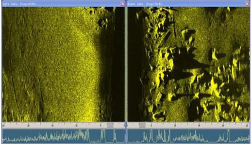 声呐系统应用于水下作业